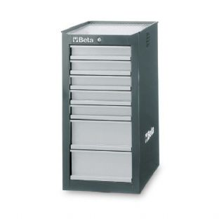 Beta C38L-G Side Cab With Seven Drawers (Gray)